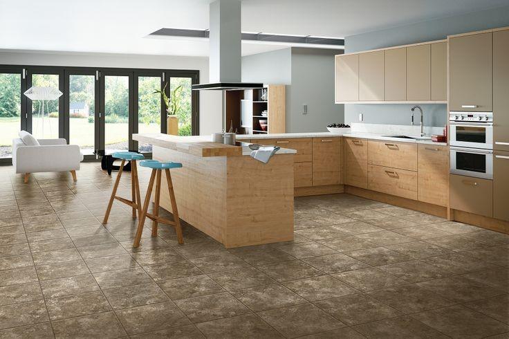 kitchen floor material vinyl
