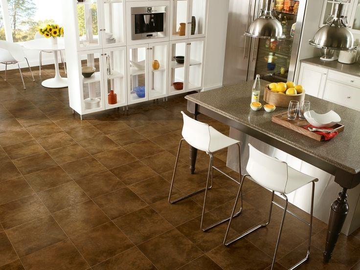 kitchen floor material tile