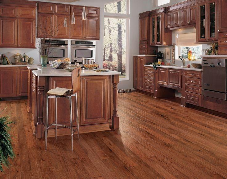kitchen floor material hardwood