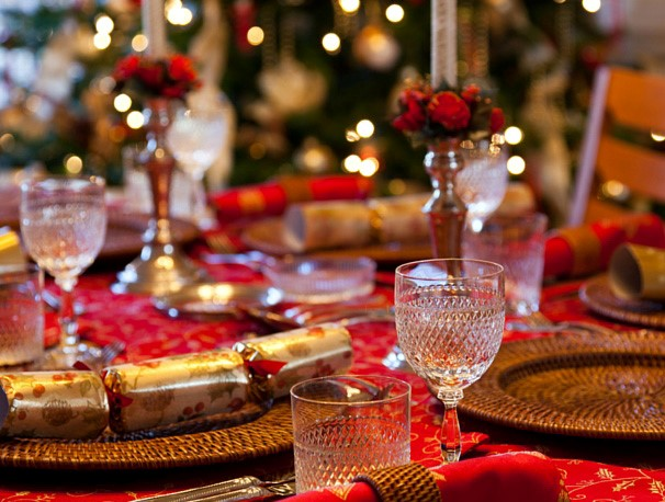 Holiday Design Table Setting