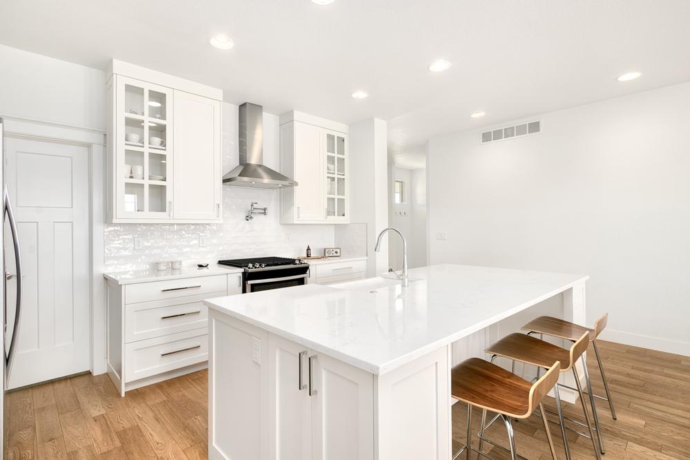 Modern Farmhouse Kitchen Eheart Interior Solutions